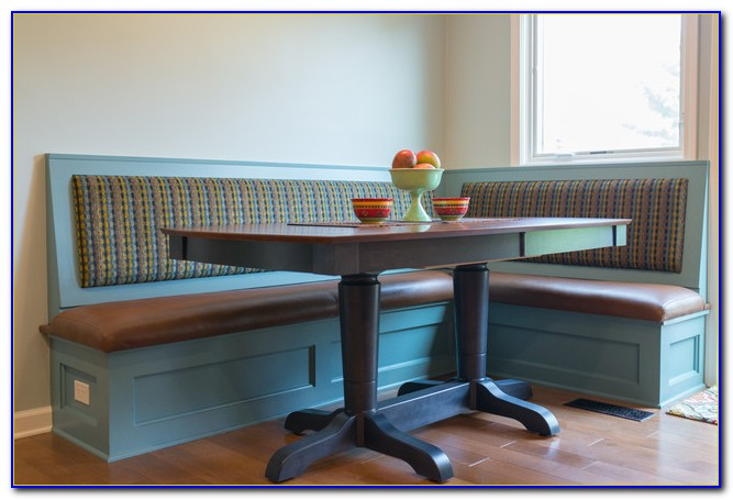 Breakfast Table With Bench Seat