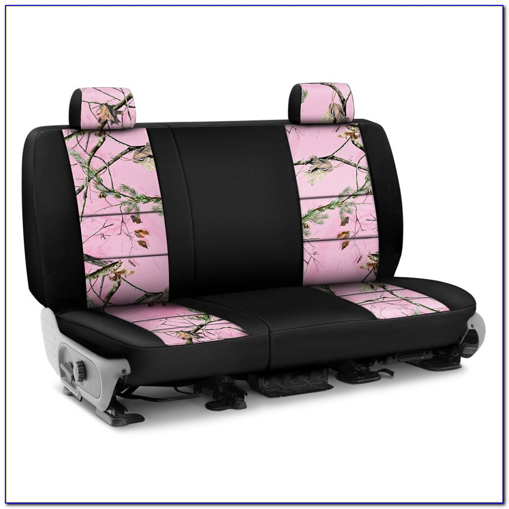 Browning Pink Camo Bench Seat Covers