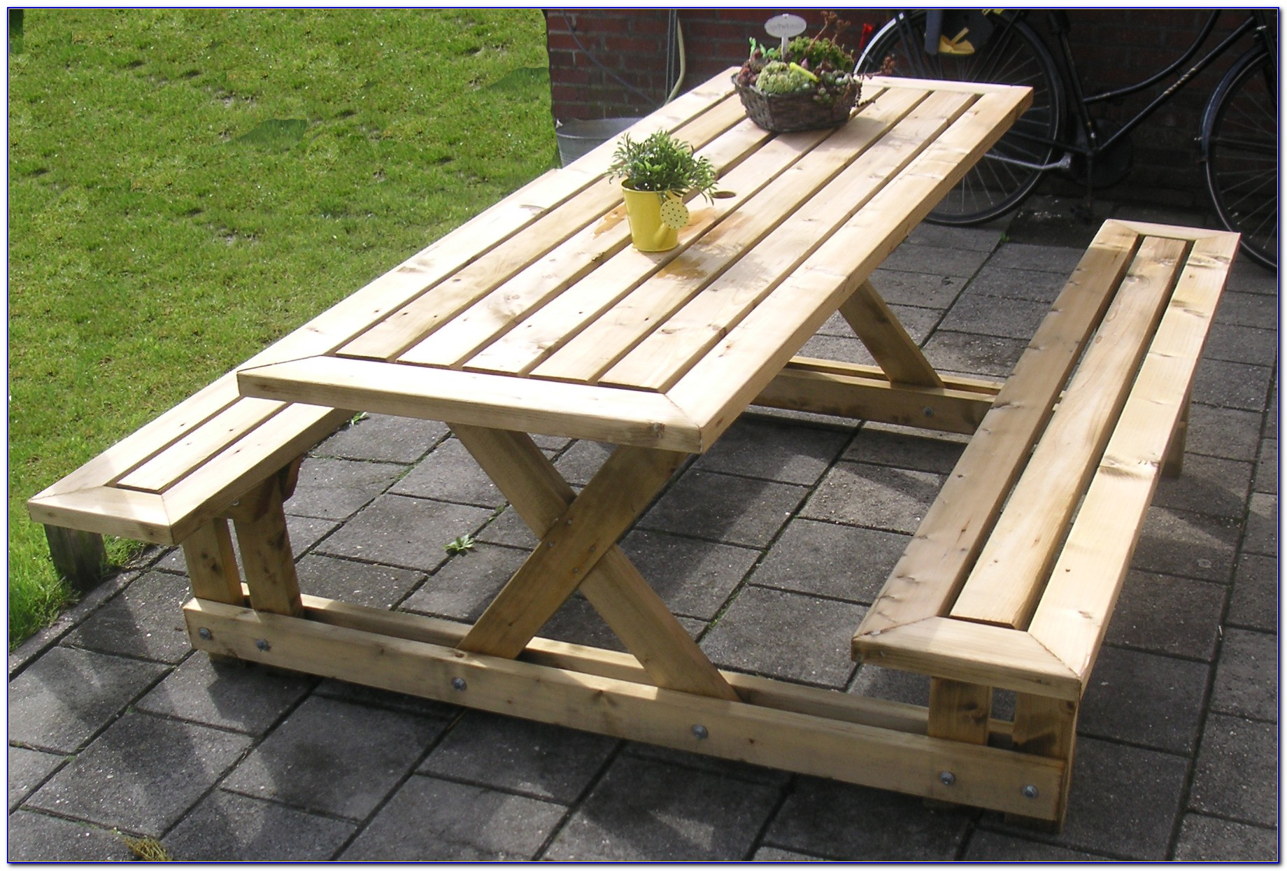 Build A Picnic Bench