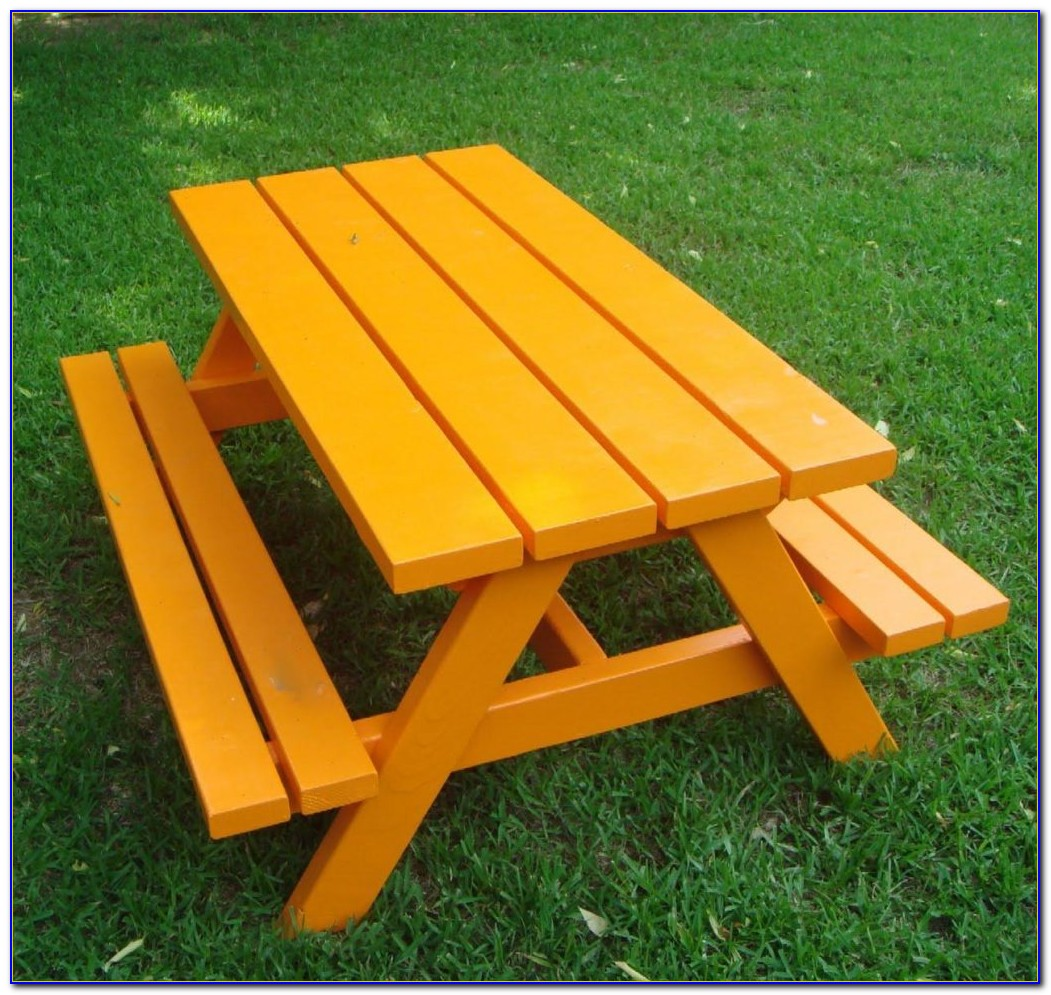 Build A Picnic Table Bench