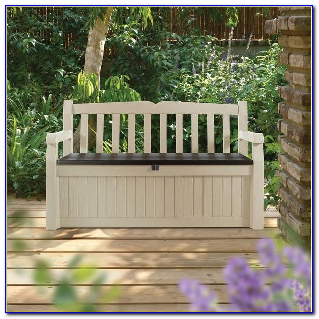 Building Outdoor Bench Seating With Storage