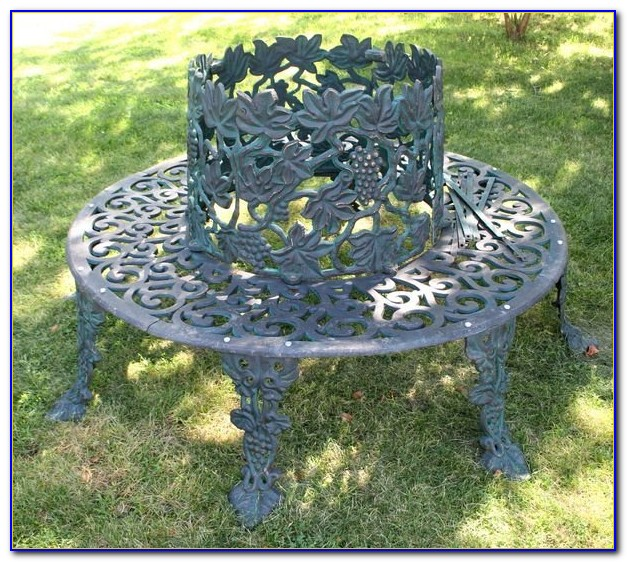 Cast Iron Circular Tree Bench