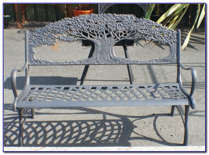 Cast Iron Wrap Around Tree Bench