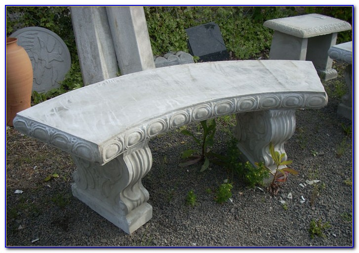 Cement Benches For Gardens