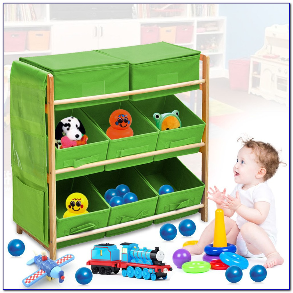 Child Bookcase Toy Storage