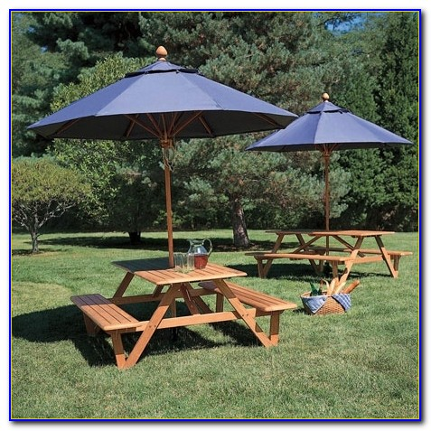 Childrens Wooden Picnic Table Benches