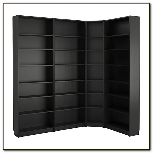 Corner Bookcase Ikea Hack