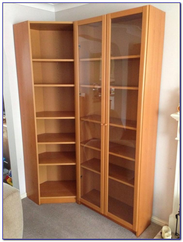 Corner Bookshelf Ikea