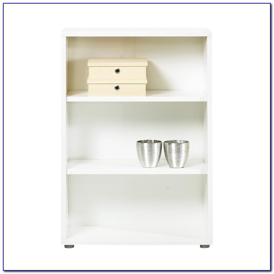 Costilla 3 Shelf Bookcase White Gloss