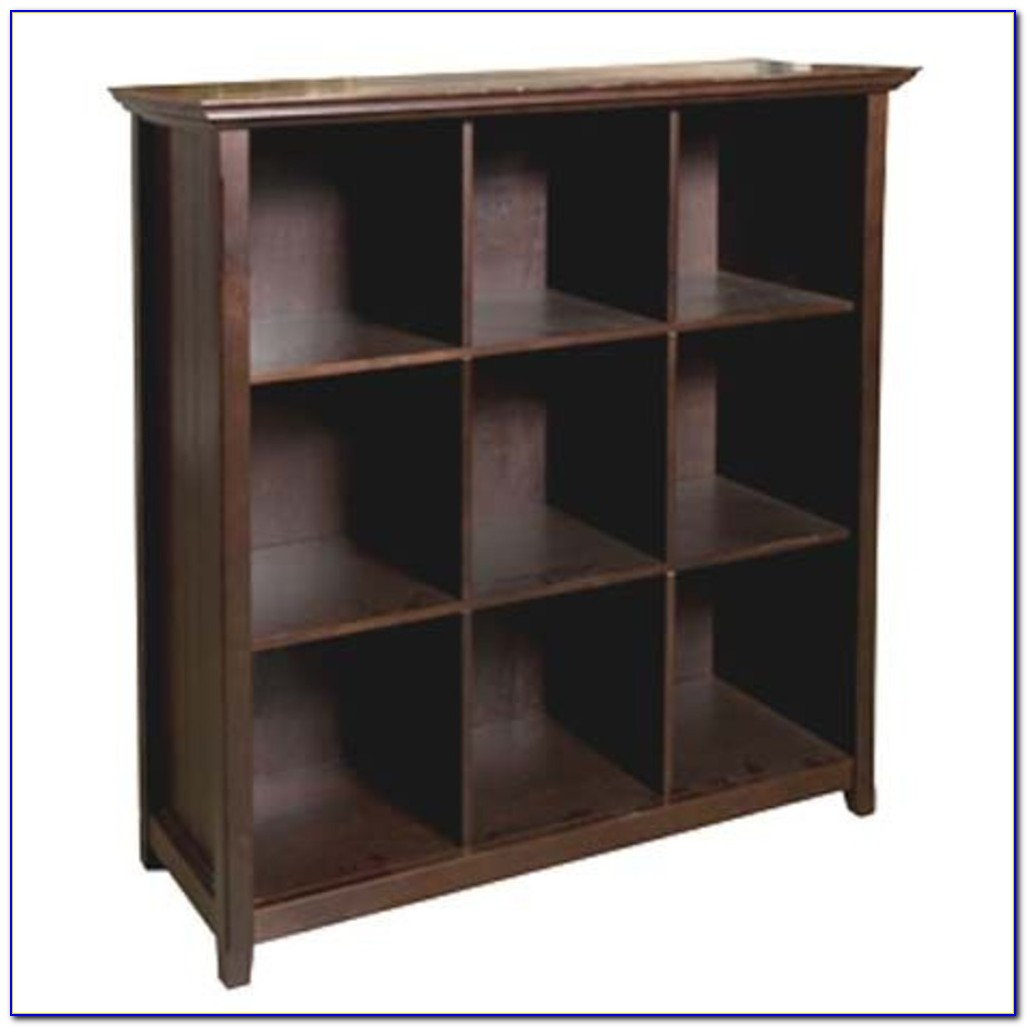 Cube Storage Bookcase Oak