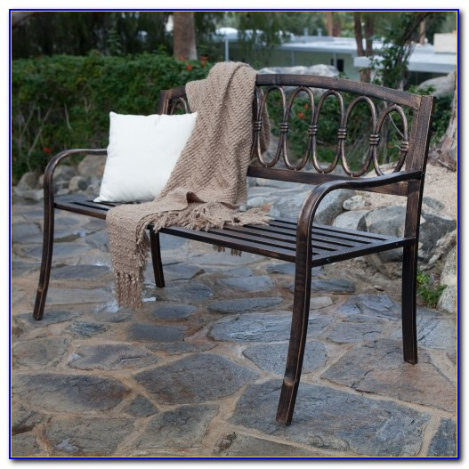 Curved Metal Garden Benches Uk