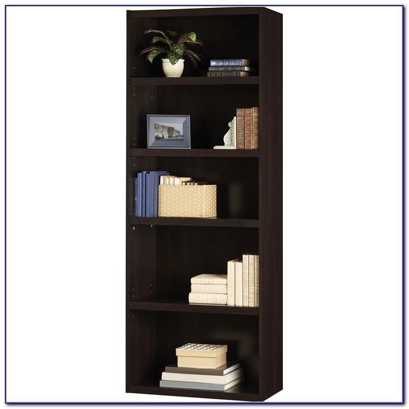 Dark Cherry Corner Bookcase