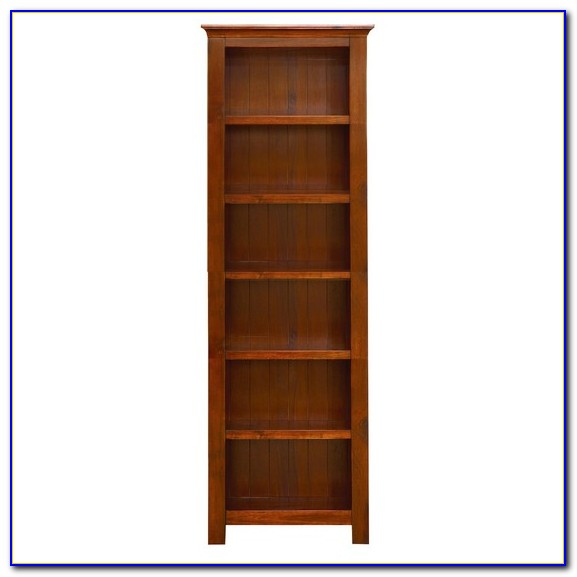 Dark Wood Bookcase Ebay