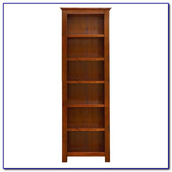 Dark Wood Bookcase Ebay