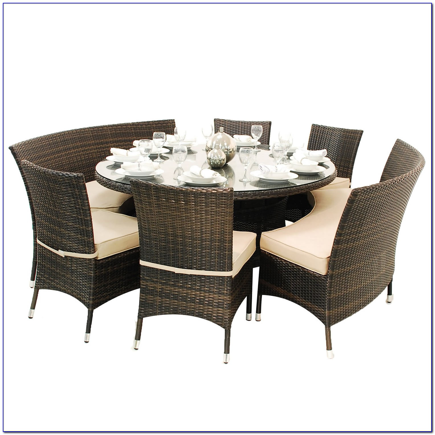 Dining Chairs And Bench Set