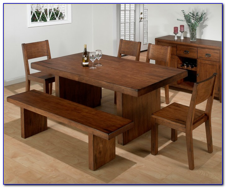 Dining Room Table With A Bench Seat