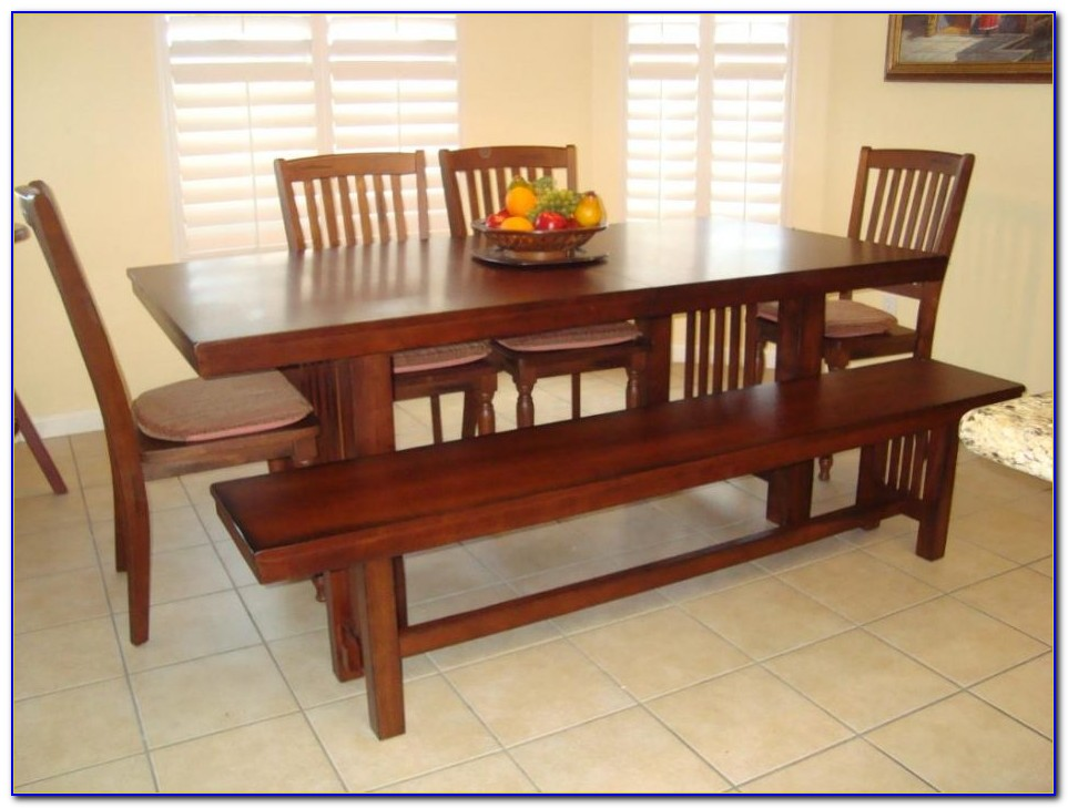 Dining Table Bench Seat Dimensions