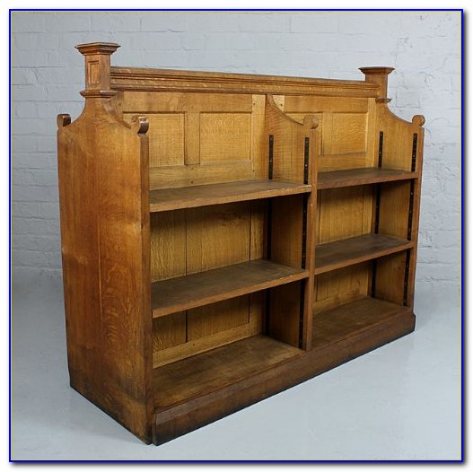 Double Sided Bookcase On Wheels