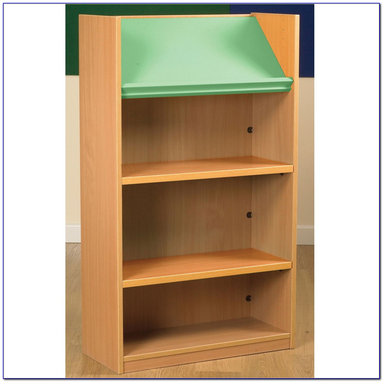 Double Sided Library Bookcase
