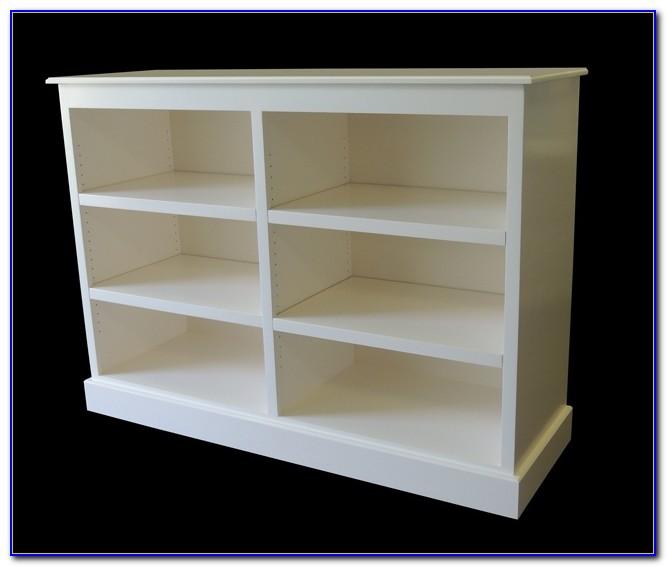 Double Wide Oak Bookcase