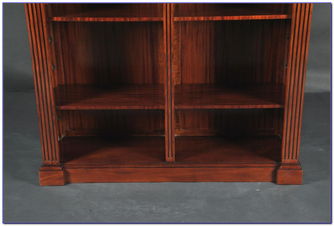 Double Wide Wood Bookcases