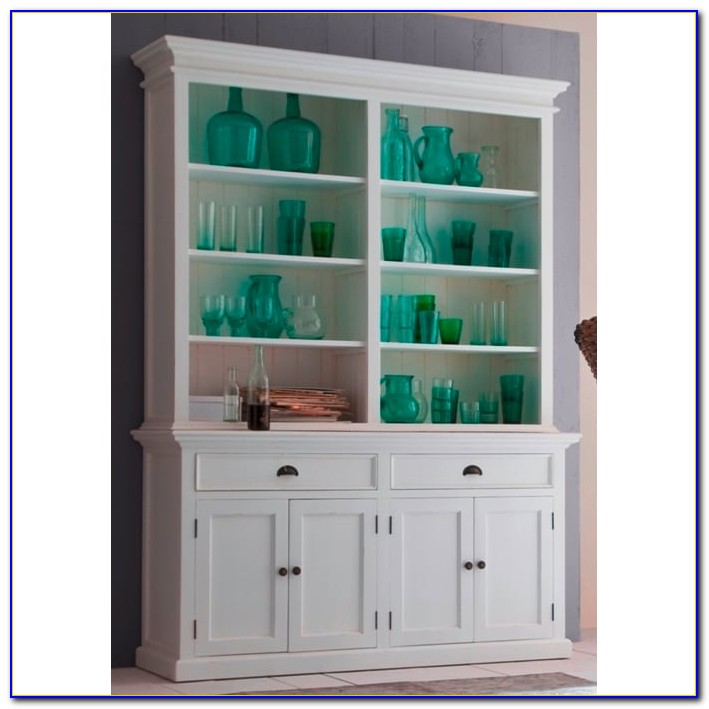 Dresser Bookcase Combination