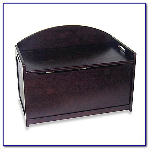 Espresso Toy Box Bench