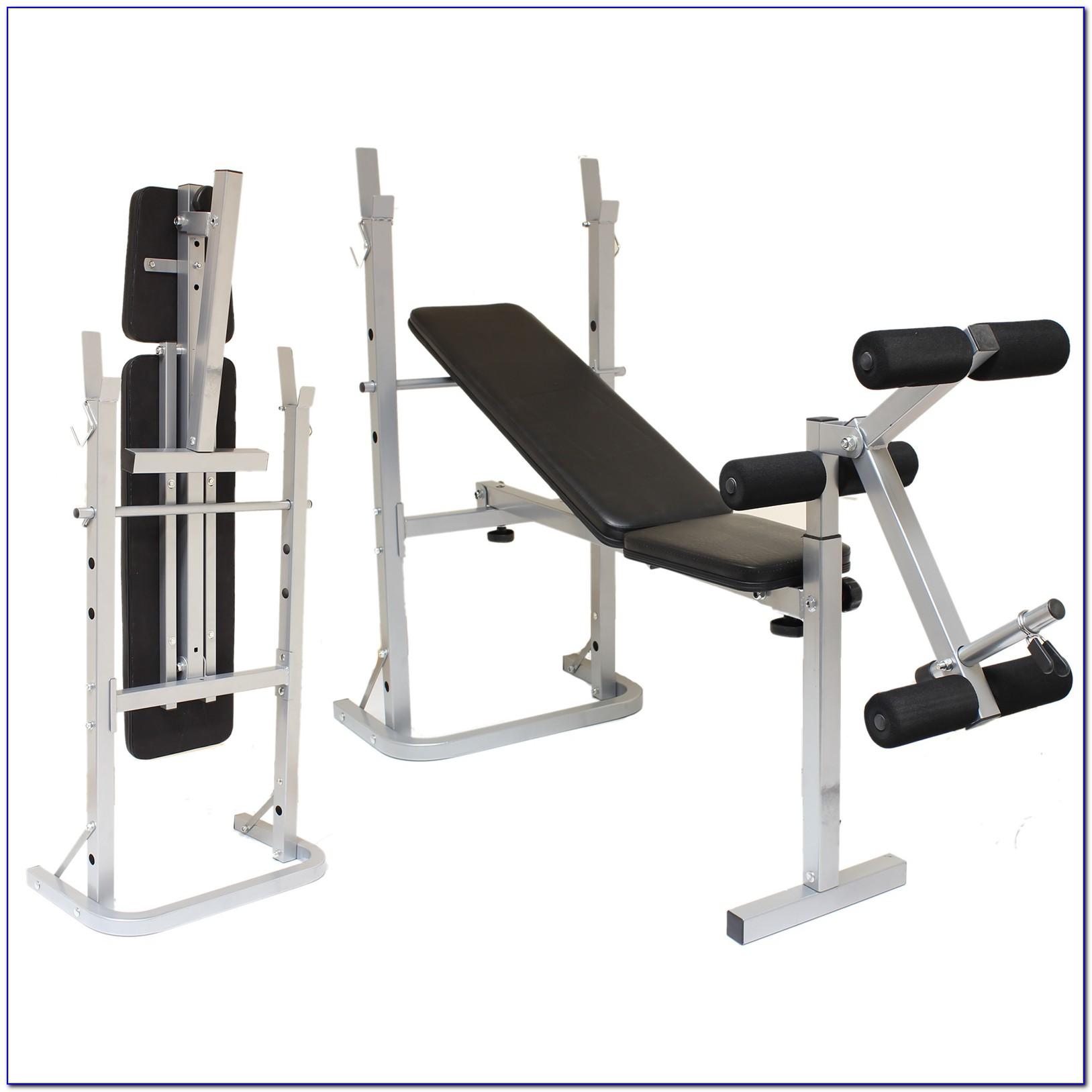 Fold Away Weight Lifting Bench