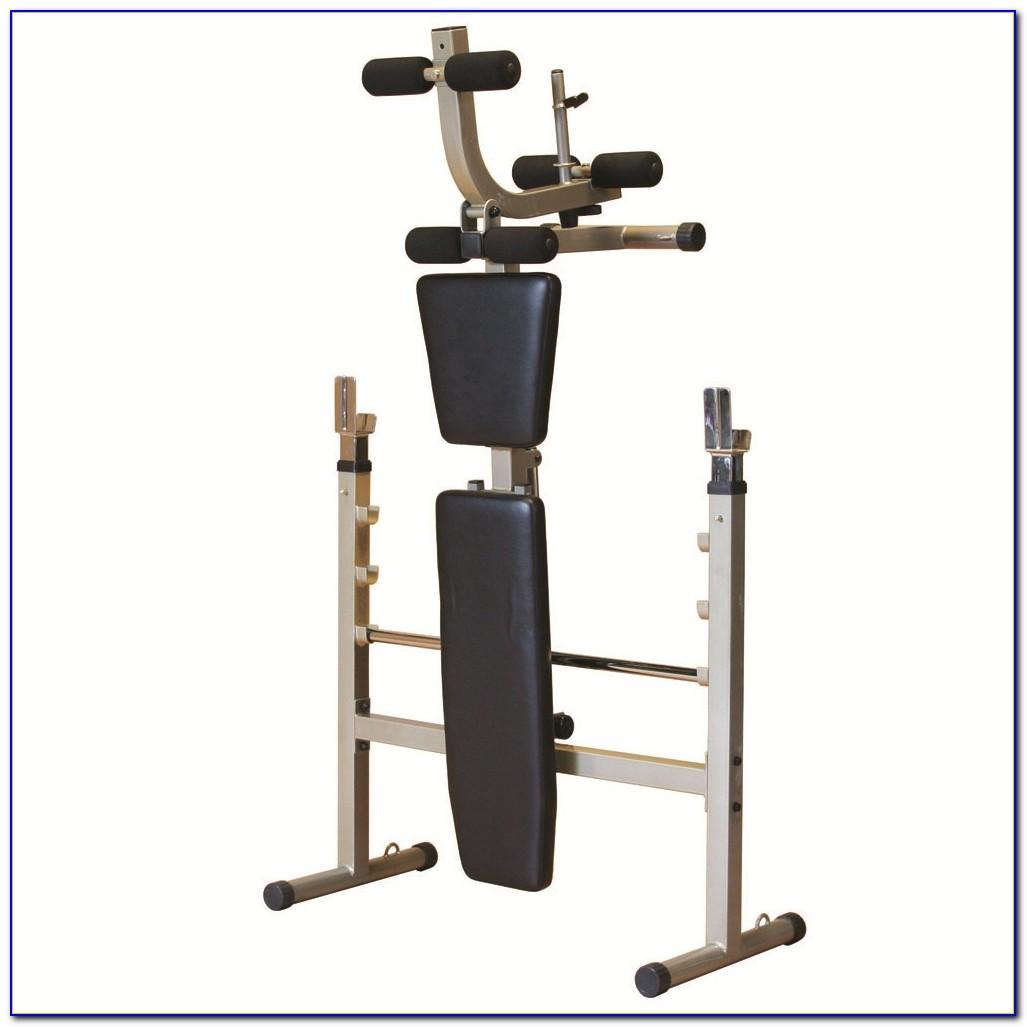 Fold Away Weight Training Bench