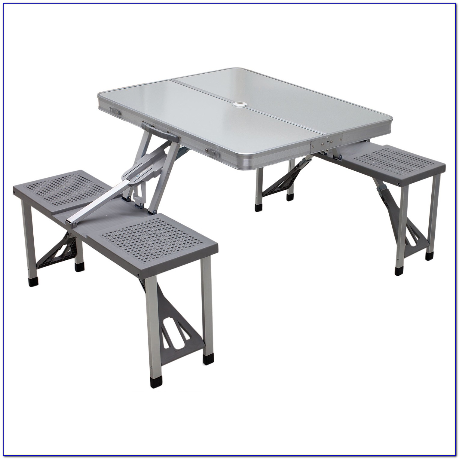 Folding Bench Picnic Table Combo