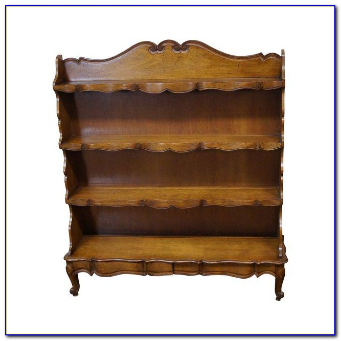 French Country Corner Bookcase