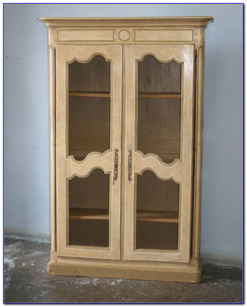 French Country Double Bookcase