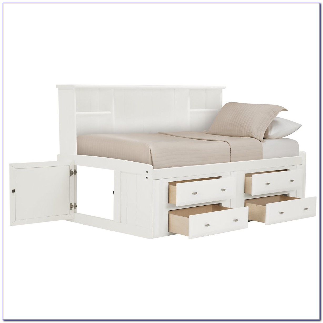 Full Daybed With Bookcase