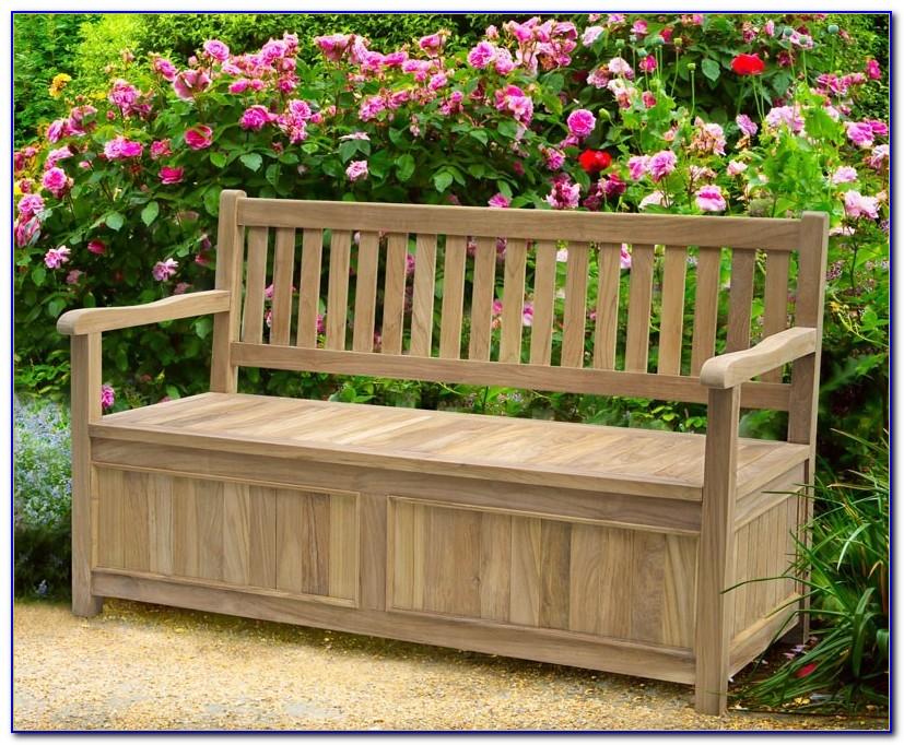 Garden Storage Bench Seat Uk