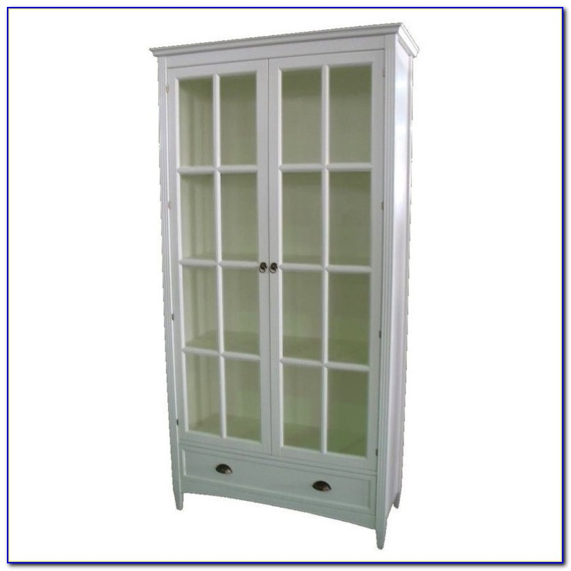 Glass Door Bookcase Ikea