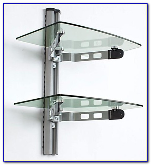 Glass Shelf Bookcase