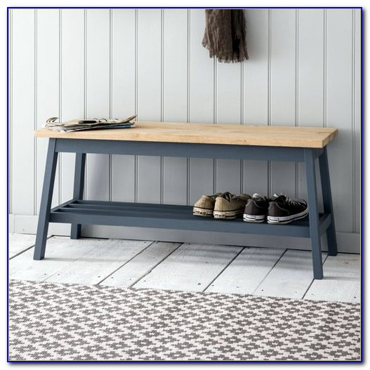 Hall Tree Bench With Shoe Storage
