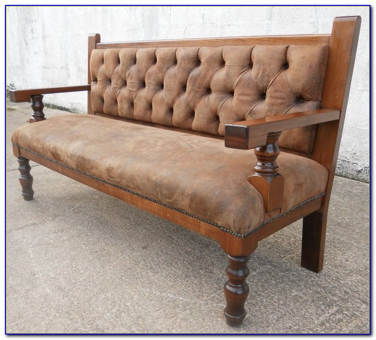 Hallway Shoe Bench With Padded Seat