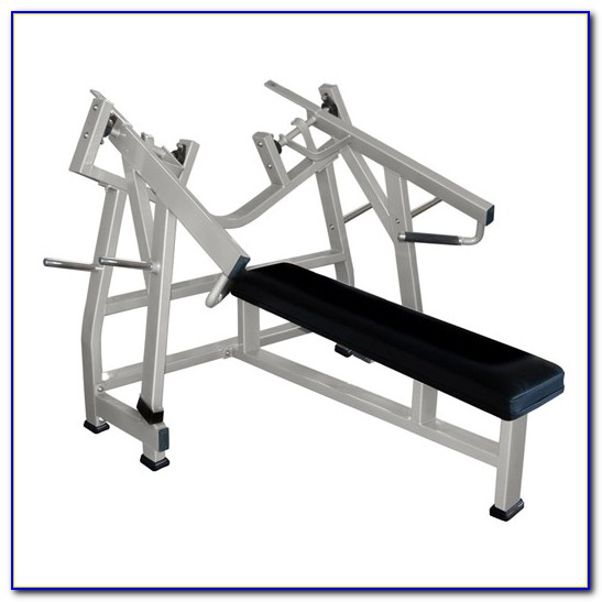 Hammer Strength Plate Loaded Bench Press