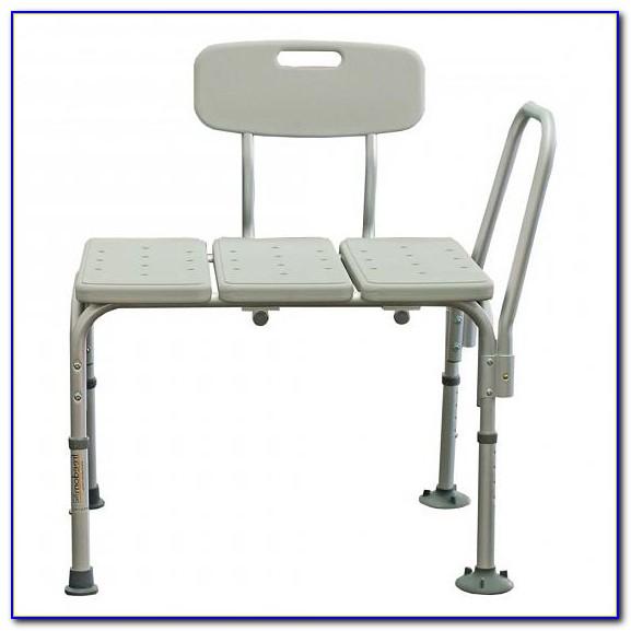 Health Heavy Duty Sliding Transfer Bench With Swivel Seat