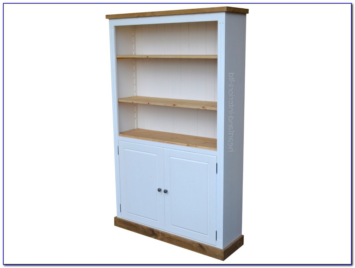Heavy Duty Bookcase With Doors
