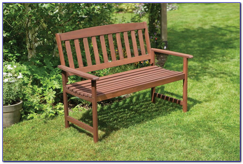 Heavy Duty Wooden Garden Benches