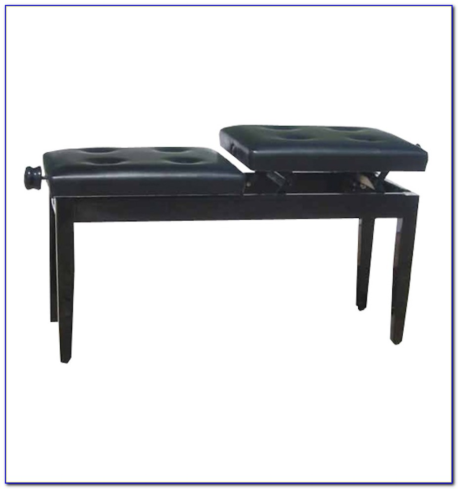 Height Adjustable Duet Piano Stool
