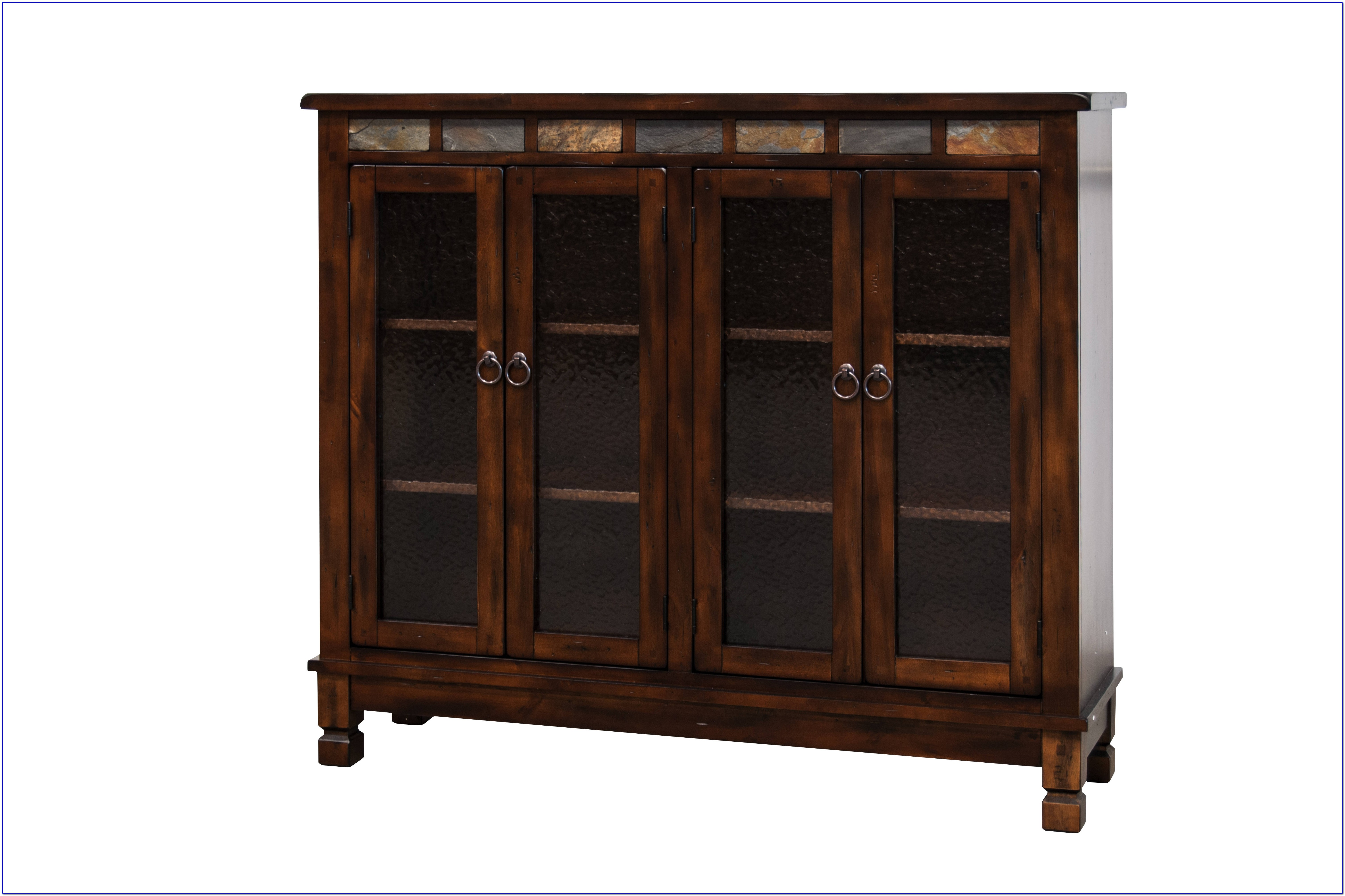 Horizontal Bookcase With Glass Doors