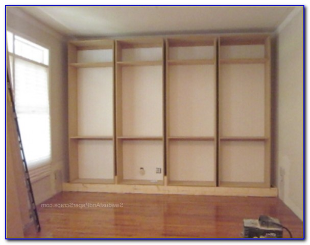 How To Build A Built In Bookcase Video