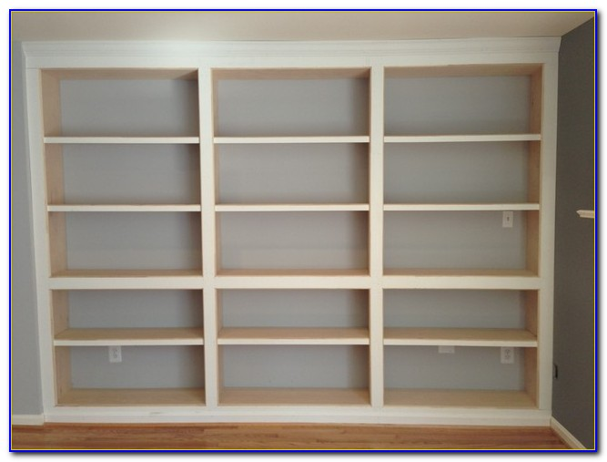 How To Build A Built In Bookcase With Bench