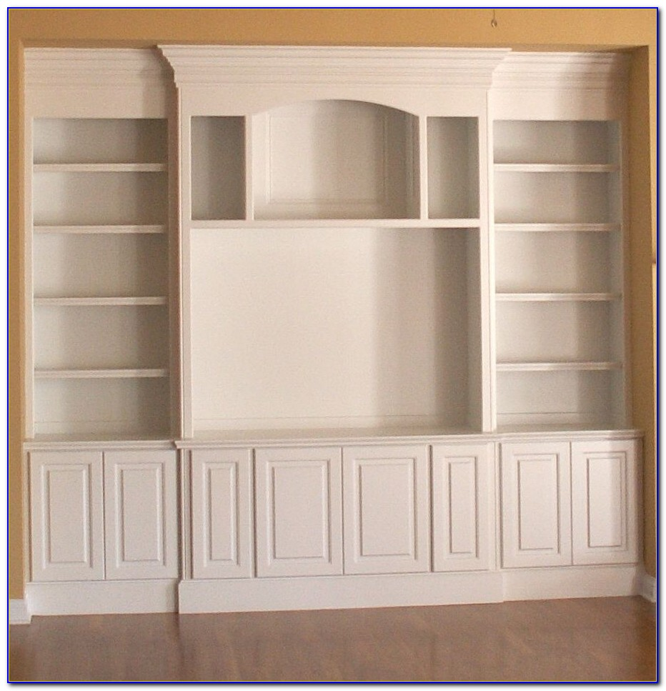 How To Build A Built In Bookcase With Doors