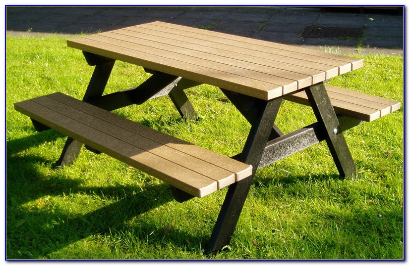 How To Build A Picnic Bench Out Of Pallets