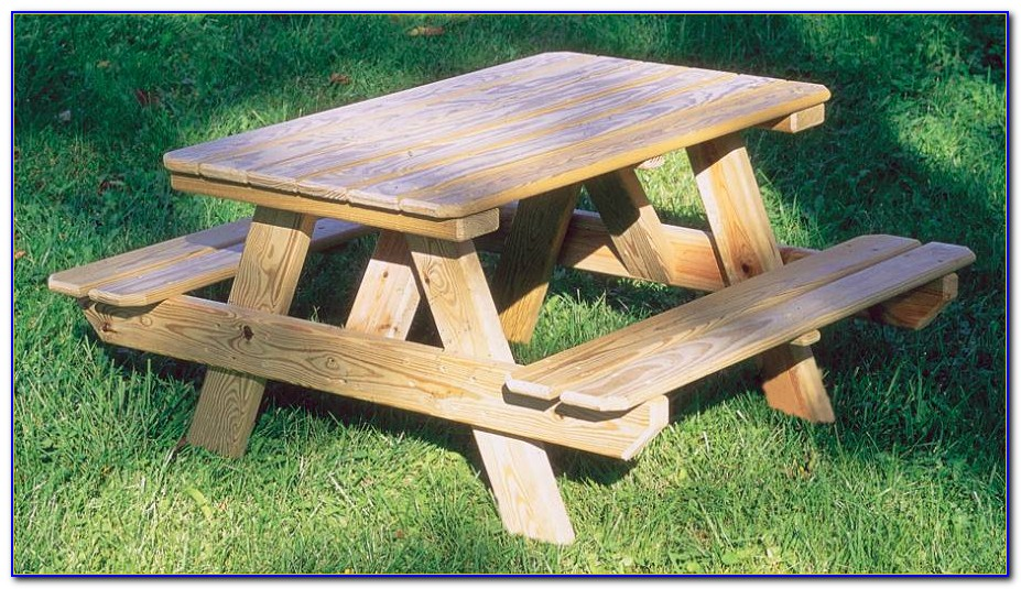 How To Build A Picnic Bench Seat