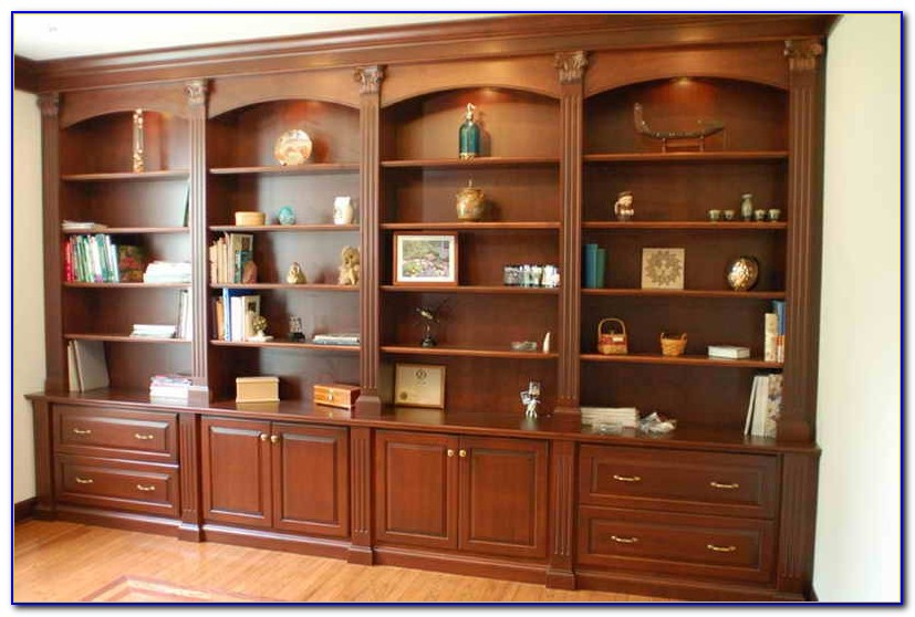How To Build Bookcases Around A Fireplace